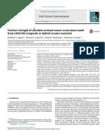 fracture strength cad cam composite vs hybrid ceramic