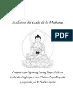 Sadhana del Buda de la Medicina