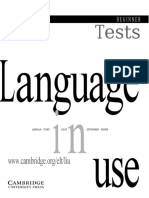 Language In Use Beginner Tests.docx