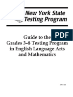 Nys Testing Guide 2010 - 2011
