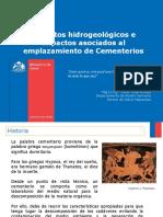 Hidrogología Cementerios 11-09-2019
