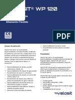 17 Velosit Hoja técnica - WP 120 Español