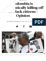 Afro Colombians pushed off of desirable land on Pacific Coast  Miami Herald