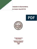 Introduction to Econometrics Data