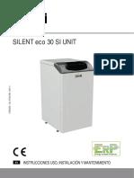 Manual Ferroli Silent Eco 30 Si Unit a73021390