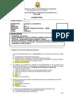 Examen final de lenguaje y compiladores semestre 2019-0 del aula 103 25-02-2019 con solucionario version 1.0.pdf