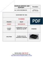 Mediadisk Fx Series - Note d'Information
