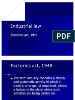 Factories Act Presentation