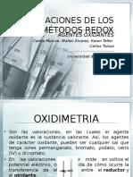 APLICACIONES DE LOS MÉTODOS REDOX expo1
