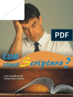 Cum c i Test i Scriptura