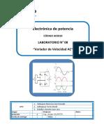 Lab08 - Variador de Velocidad AC siemens