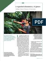 Bosques_Genero_seguridadAlimentaria_FAO