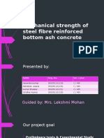 Experimental Study on steel fibre reinforced and polymer