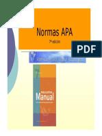 Normas APA 7ma. edición