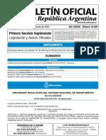 Boletín Oficial  - 14 de Marzo 2020