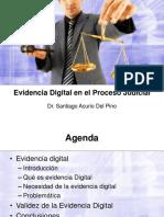 2016 - Evidencia Digital en el Proceso Judicial-Santiago Acurio