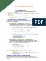 Relaciones Públicas Tema 1 - Conceptualización de la Disciplina