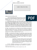 Alfredo Bosi Resenha   Colônia Culto e cultura Dialética da colonização