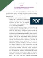 Sociolinguística Tema 3