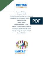 Ciencia y Tecnología con Humanismo Foro.docx