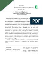 informe características físicas y composición química del protoplasma