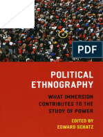 Edward Schatz - Political Ethnography_ What Immersion Contributes to the Study of Power (2009, University Of Chicago Press).pdf
