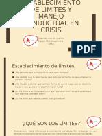 Taller para padres- Establecimiento de limites y manejo conductual.pptx