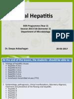 19. Viral Hepatitis-DDS 2- 2017-18