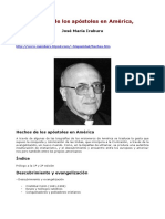 hechos de los apostoles - Jose Maria Iraburu