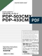 PDP-503CMX Users Manual