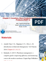 Chapter 2 - Inventory, Stock Analysis and classifying products - Part 2