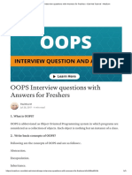 OOPS Interview questions with Answers for Freshers - Dot Net Tutorial - Medium.pdf