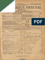Monitorul Oficial, partea I-a, nr. 260, vineri 10 noiembrie 1933