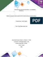 Formato Entrega Paso 2  Programa informativo sobre políticas y programas internacionales en primera infancia
