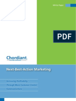 Chordiant Next-Best-Action Marketing White Paper