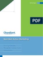 Chordiant Next-Best-Action Marketing White Paper