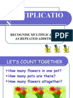 Multiplication - Repeated Addition