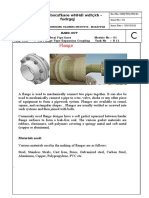 Hand out flanges