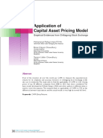 9. Application of CAPM in the CSE.pdf