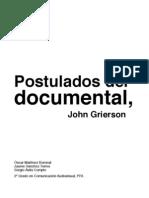 Postulados Del Documental_MRC