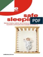 safe sleeping brochure 1