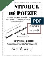 Revista Monitorul de Poezie 15.2020