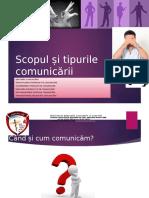 1Lectie I Scopul si tipurile   comunicarii.pptx