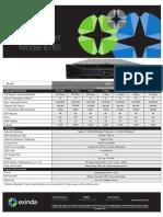Ex Ind a 8760 Spec Sheet