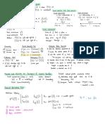 W5-8 Summary
