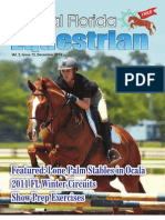 December 2010 issue Central Florida Equestrian Magazine