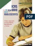 Técnicas de estudio para adolescentes. Cómo superarte en secundaria, bachillerato y ciclos.pdf