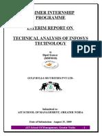 19454887-Technical-Analysis-of-Infosys-Technology