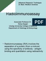 radioimmunassay