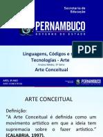 Arte Conceitual Definição e Características